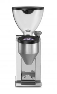 No coffee grinder retention, easy to adjust on demand. The perefct combination to a Rocket espresso machine.