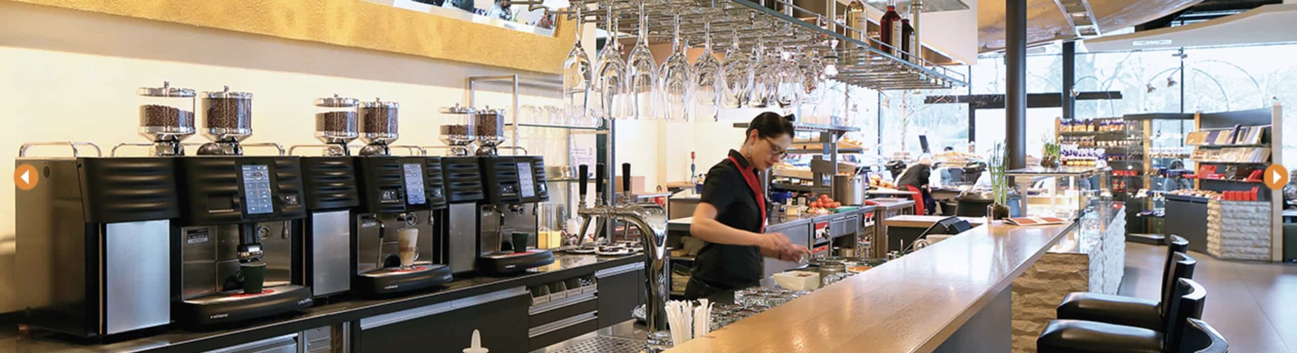 Large Volume coffee sites
