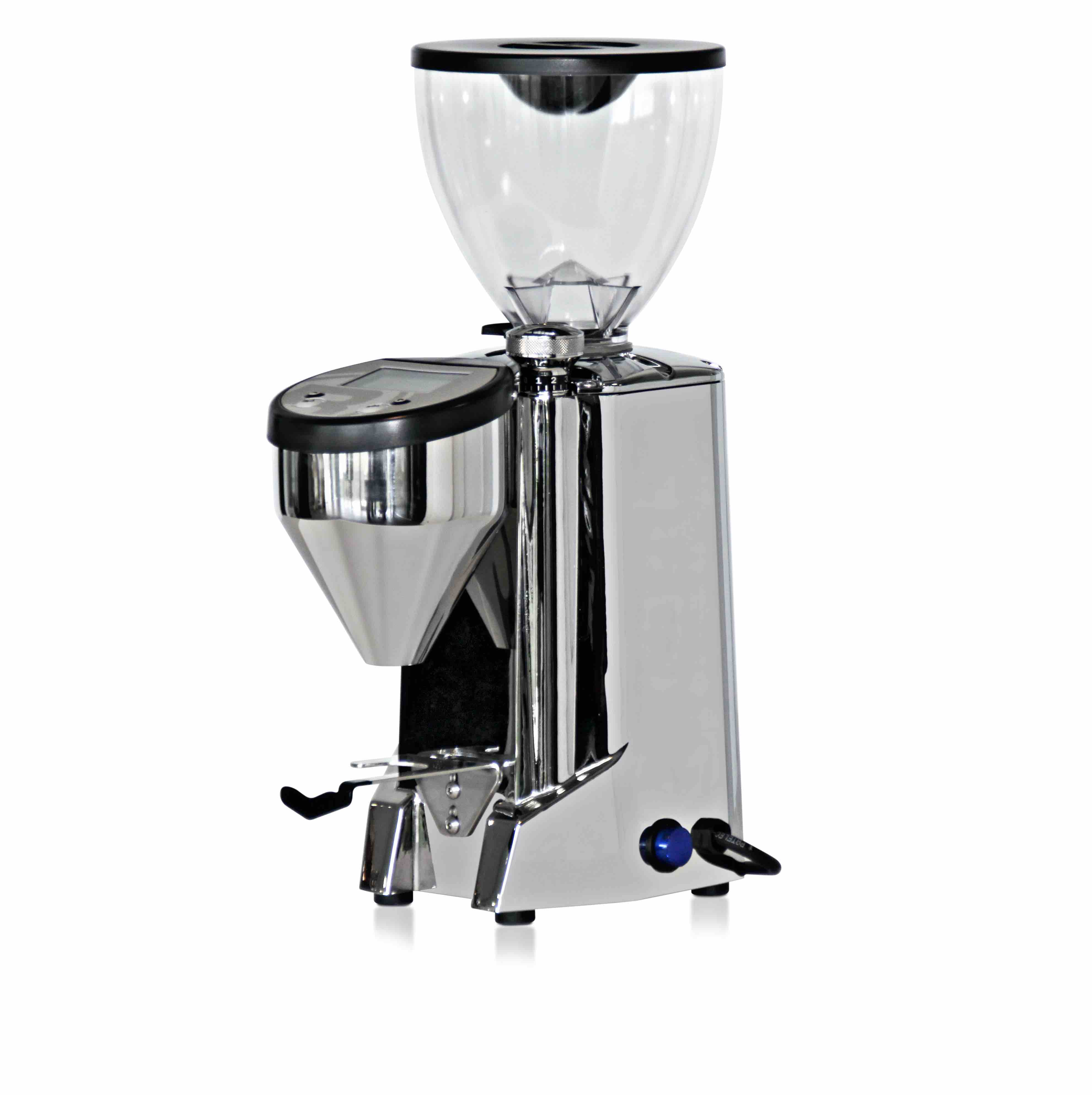 medium size coffee hopper and stepless adjustment with led screen