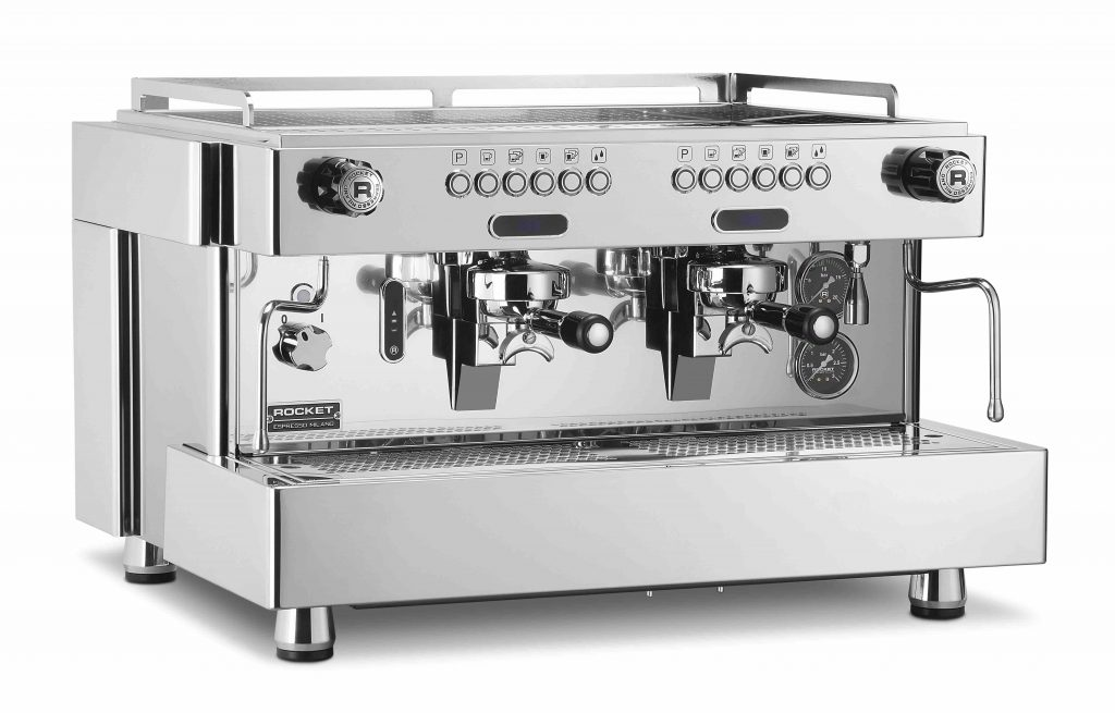 2 group traditional espresso machine