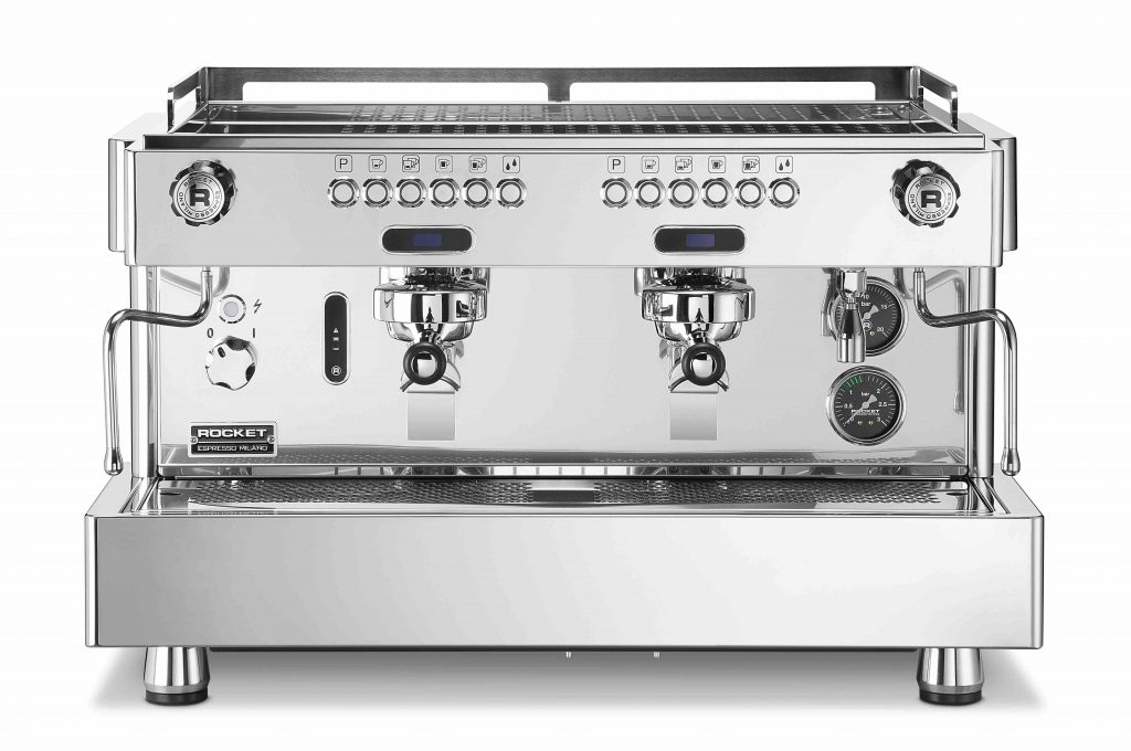 Shot timer espresso machine