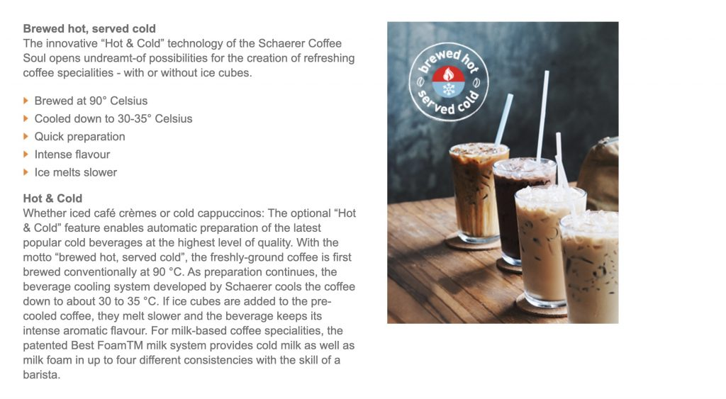 Have iced coffee from your office coffee machine