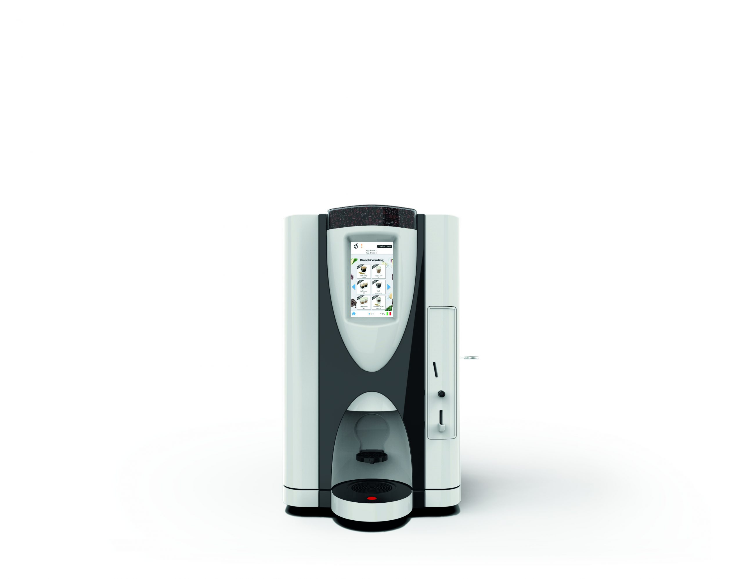 Small automatic coffee machine