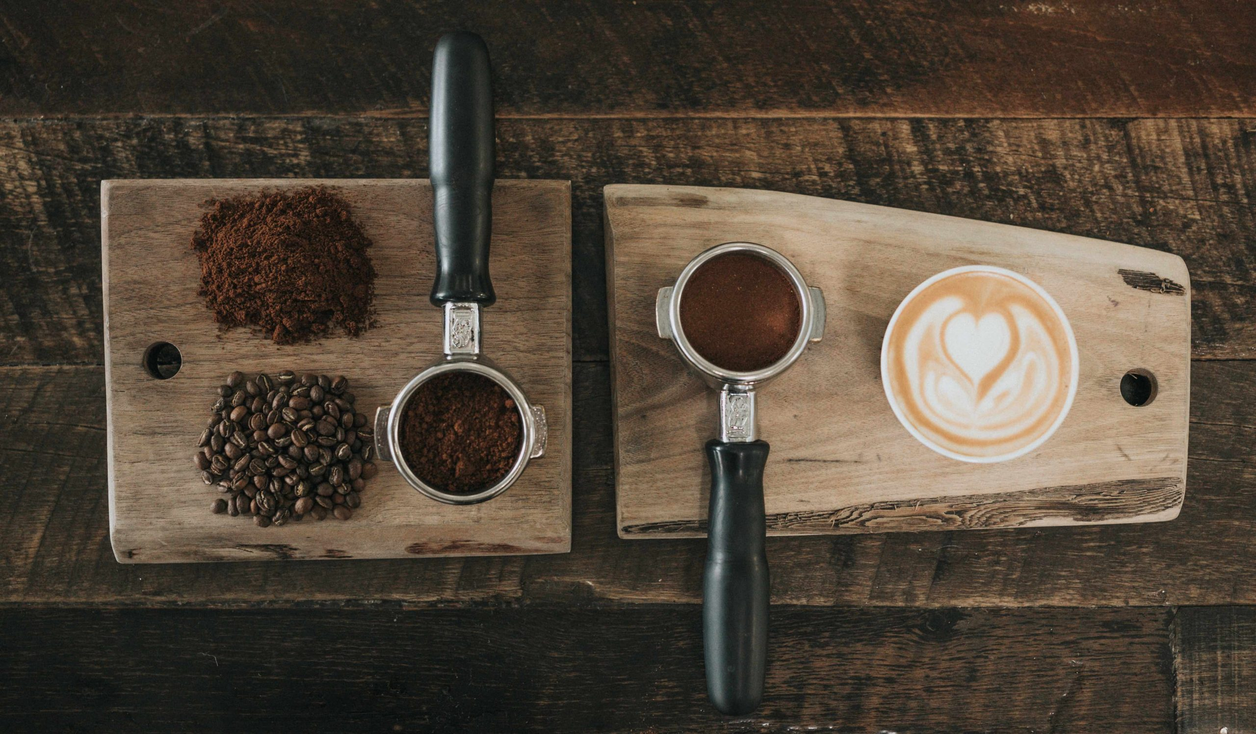 coffee ground up
