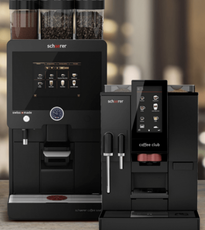 Schaerer Bean to cup coffee